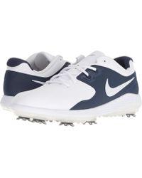 Nike - Vapor Pro (white/metallic White/midnight Navy/volt) Men's Golf Shoes - Lyst