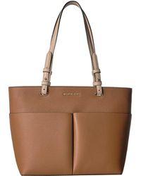 0f71763a79b9 MICHAEL Michael Kors - Bedford Medium Top Zip Pocket Tote (acorn) Tote  Handbags -