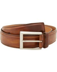 Magnanni - Catalux Tabaco Belt (tabaco) Men's Belts - Lyst