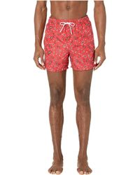 9e1c6cba7a The Kooples Panther Swim Trunks in Black for Men - Lyst