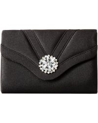 Jessica Mcclintock - Alexis Clutch (black) Clutch Handbags - Lyst