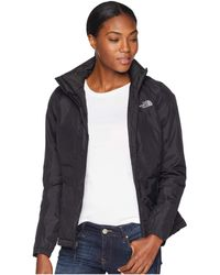 The North Face - Resolve Insulated Jacket (vanadis Grey/asphalt Grey) Women's Coat - Lyst