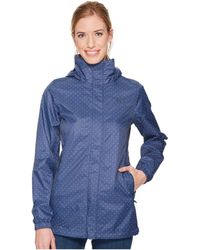 The North Face - Resolve Parka (sodalite Blue Stripe Print) Women's Coat - Lyst