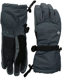 Columbia - Whirlibirdtm Ski Glove (graphite) Extreme Cold Weather Gloves - Lyst