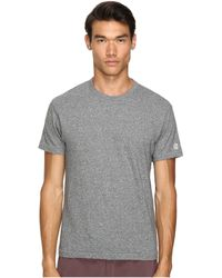 Todd Snyder - Heathered Basic Tee (salt/pepper) Men's T Shirt - Lyst