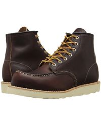 Red Wing - 875 Moc Leather Boots - Lyst