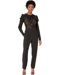 MICHAEL Michael Kors - Lace Bodice Jumpsuit (black) Women's Jumpsuit & Rompers One Piece - Lyst