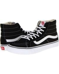 f7c64eb573 Vans - Comfycush Sk8-hi ((classic) Black true White) Athletic