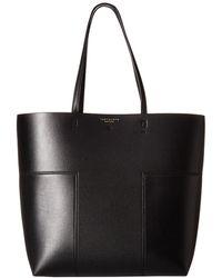 31d5989d532 Tory Burch - Block-t North south Tote (black black) Handbags