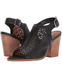 Trask - Parker Perf (black Washed Sheepskin) Women's Hook And Loop Shoes - Lyst