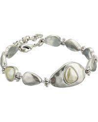 Lucky Brand - Pearl Link Bracelet - Lyst