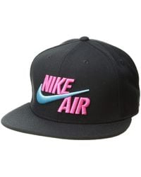 09d6e2add9f Lyst - Nike Laser Pulse True (nfl Eagles) Adjustable Hat (black) in ...