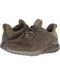adidas Originals - Alphabounce Sueded (branch/trace Cargo/core Black) Men's Running Shoes - Lyst