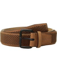 Cole Haan - 35mm Nubuck Perforated Belt - Lyst