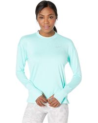 4721dd3bdc572 Nike - Element Top Crew (black heather reflective Silver) Women s Clothing -