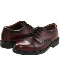 Dockers - Gordon Cap Toe Oxford (antiqued Cordovan) Men's Lace Up Cap Toe Shoes - Lyst