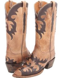Lucchese - L4723 (pearl Mad Dog Goat) Cowboy Boots - Lyst