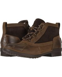 UGG - Heather Boot (black) Women's Lace-up Boots - Lyst