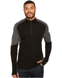 Smartwool - Phd(r) Light 1/4 Zip (black) Men's Long Sleeve Pullover - Lyst