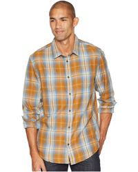 Prana - Holton Long Sleeve Shirt (scorched Brown) Men's Long Sleeve Button Up - Lyst