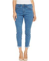 NYDJ - Petite Ami Skinny Ankle W/ Dolphin Hem In Bliss (bliss) Women's Jeans - Lyst