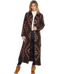 Double D Ranchwear - Cross Canyon Duster-no Fur - Lyst