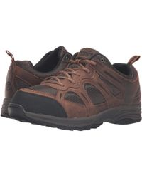 Propet - Connelly (gunsmoke/orange) Men's Shoes - Lyst