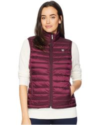 Ariat - Ideal Down Vest (beatroute) Women's Vest - Lyst