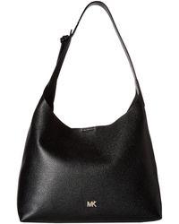 MICHAEL Michael Kors - Junie Medium Hobo (fawn) Hobo Handbags - Lyst