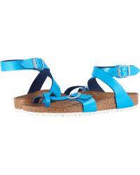 Birkenstock - Yara (graceful Hibiscus) Women's Sandals - Lyst
