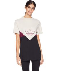adidas Originals - Clrdo Tee (maroon) Women's T Shirt - Lyst