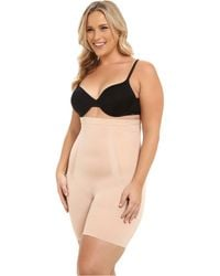 Spanx - Plus Size Oncore High-waist Mid-thigh - Lyst