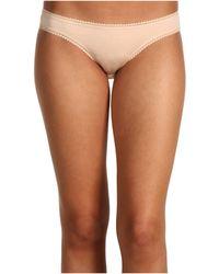On Gossamer | Cabana Cotton Hip Bikini 1402 | Lyst