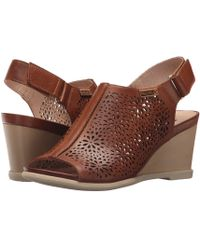 Pikolinos - Vigo W3r-1641 (brandy) Women's Wedge Shoes - Lyst