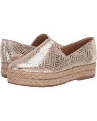 b0d718078c5d Cushion Celine.  40. Reef · Naturalizer - Thea 3 (cream Metallic Scale  Leather) Women s Shoes - Lyst