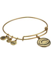 ALEX AND ANI - Mlb® Cincinnati Reds Charm Bangle - Lyst