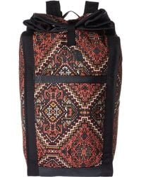 The North Face - Homestead Roadsoda Pack (tandori Spice Red Reno Casino Print/weathered Black) Backpack Bags - Lyst
