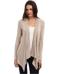 ef4942a8bc80 Lyst - Gibson X Living In Yellow Claire Cardigan (plus Size ...