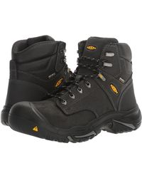 Keen Utility - Mt Vernon Mid (cascade Brown) Men's Industrial Shoes - Lyst