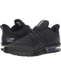 197a8b1813c Nike - Air Max Sequent 4 Shield (black anthracite white) Men s Running