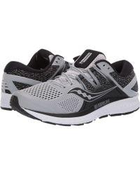 d5db50df78 Saucony - Omni Iso (navy blue citron) Men s Running Shoes - Lyst
