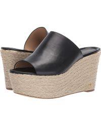 9304efaefa925 MICHAEL Michael Kors - Cunningham Wedge (optic White Vachetta) Women s  Shoes - Lyst