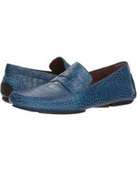 Donald J Pliner - Vinco5 (blue) Men's Shoes - Lyst