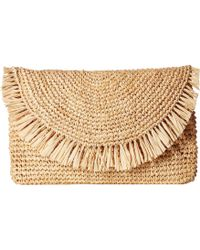 Hat Attack - Sunshine Clutch (natural/natural) Clutch Handbags - Lyst