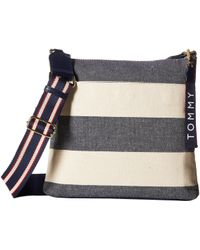 Tommy Hilfiger - Classic Tommy Large Crossbody - Lyst