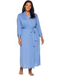 N By Natori - Plus Size Congo Robe (black) Women's Robe - Lyst