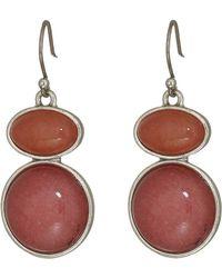 Lucky Brand - Berry Drop Earrings (silver) Earring - Lyst