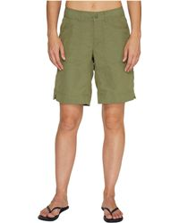 The North Face - Horizon 2.0 Roll-up Shorts (deep Lichen Green Heather (prior Season)) Women's Shorts - Lyst