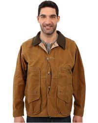 Filson - Tin Cloth Field Coat (tan) Men's Coat - Lyst