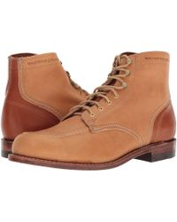 Wolverine - 1000 Mile 1940 Boot (natural Leather) Men's Lace-up Boots - Lyst